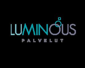 Graafinen suunnittelu / Logo Luminous