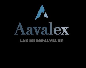 Graafinen suunnittelu / Logo Aavalex